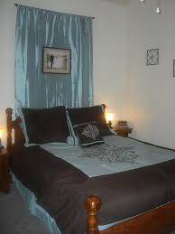 Sheer Curtains Over Bed Hanging Curtains Behind The Bed Decorate The House With