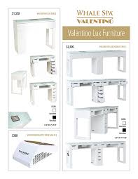 manicure tables with ventilation valentino beauty pure nail dust collectors salon furniture