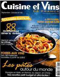 cuisine vins revues de presse de la devèze