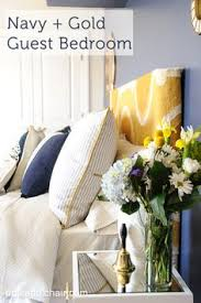 guest room decorating ideas budget navy and gold guest bedroom ideas guest bedroom colors navy