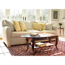 Country Coffee Table Country Oval Coffee Table Vermont Woods Studios