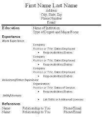 Resume Volunteer Experience Example by Writing Experience In Resume