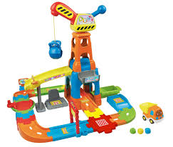 amazon com vtech go go smart wheels construction playset toys