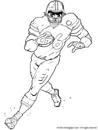 stylish and lovely football players coloring pages to really