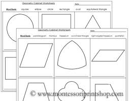 geometry cabinet worksheets worksheets for the geometry cabinet