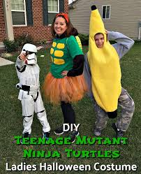 Ninja Turtle Halloween Costume Girls Teenage Mutant Ninja Turtles Ladies Halloween Costume