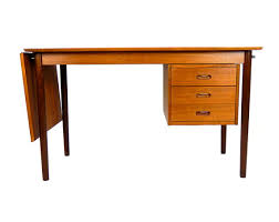 Teak Mid Century Modern Furniture by Danish Modern Arne Vodder Desk Solid Teak Desk Made In Denmark