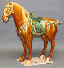 chinese vase appraisal monumental chinese ceramic horse collection wolfs art dealers