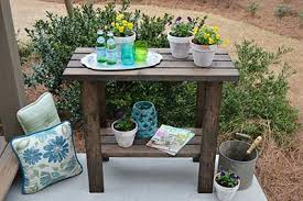 Plant Bench Plans - 65 diy potting bench plans completely free