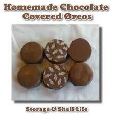 chocolate covered oreos shelf life