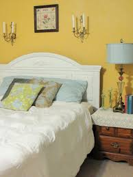 diy master bedroom decorating ideas twin wall light above bed