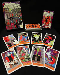 aeiou and sometimes why halloween tarot and playing cards
