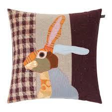 Stag Cushions Buy Carola Van Rabbit Cushion 50x50cm Amara