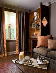 Rust Color Curtains Rust Color Living Room Curtains 24 Spaces