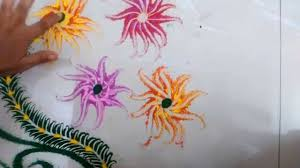 flower drawing designs with colours simple easy butterfly flowers