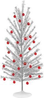 simple design silver trees artificial tree treetopia