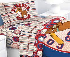Scooby Doo Bed Sets Scooby Doo Baseball Comforter Scooby Doo Baseball Homerun 4pc