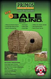 Primos Blinds Double Bull Bale Blinds
