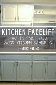 Vintage Metal Kitchen Cabinet Enamel Painted Home by Best 25 Painting Wood Cabinets Ideas On Pinterest Redoing