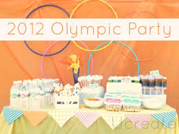 Olympic Games Decorations Diy Olympic Crafts And Party Ideas Oh My Creative