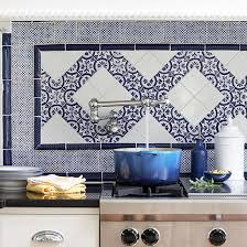 Mediterranean Tiles Kitchen - home christmas decoration 9 colorful kitchen backsplash inspiration