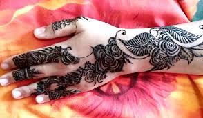 beautiful henna mehndi design video tutorial for eid youtube
