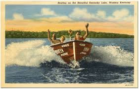 vintage classic boat post cards happy monday classic boats