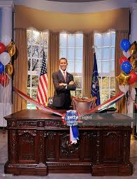 Barack Obama Oval Office Unveiling Of