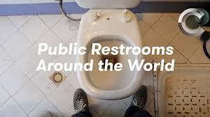 a journey through different bathrooms around the world