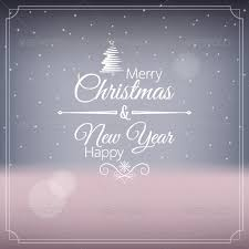 merry and happy new year photoshop psd paper