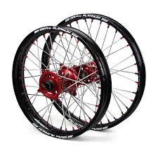 black wheels sm pro honda crf250r crf450r black red platinum wheel set sm pro