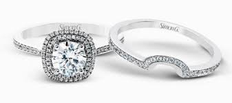 wedding band sets for engagement rings sets simon g jewelry