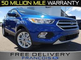 Ford Escape Trunk Space - new 2017 ford escape se 4d sport utility in belleville hue31598