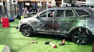 zombie survival truck hyundai u0027s zombie apocalypse survival cars guns armor u0026 more