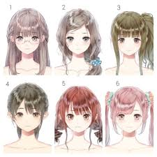 anime hairstyles tutorial amazing anime hair page by tentopet on image for girl trend and