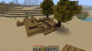 survival minecraft house minecraft seeds pc xbox pe ps4