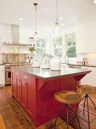 red kitchen island granite top i love the red island urban