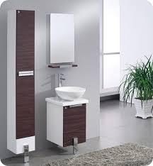 Modern Walnut Bathroom Vanity Fresca Fvn8110dk Adour 16 Modern Bathroom Vanity With Mirror In