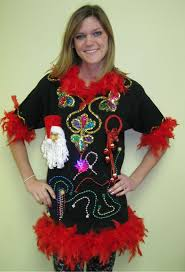 The Ugly Christmas Sweater Party - 3d ugly christmas sweaters women ugly christmas 3d santa dress