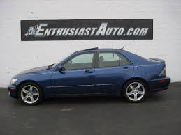 2003 lexus is300 sport design for sale pre owned miscellaneous for sale for sale at enthusiast auto