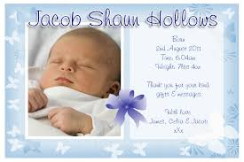 best personalized birth announcement postcards beautiful boy phoo