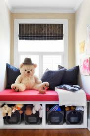 make a window seat with toy storage hgtv window seat with built in storage