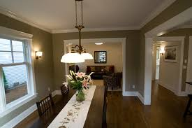 dining room color schemes chair rail home design ideas