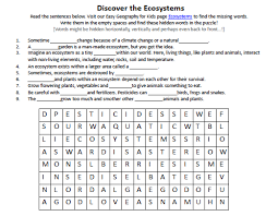 ecosystem worksheet answers fts e info