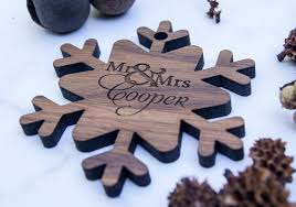 ornament personalized wooden ornament