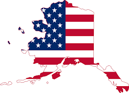 Maps Of Alaska by File Flag Map Of Alaska Usa Png Wikimedia Commons