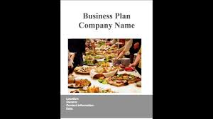 catering business plan example youtube