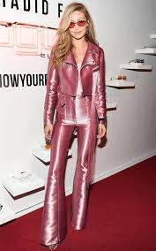I Love Gigi Baby Clothing Gigi Hadid U0027s Stylist Talks About Her Pink Barbie Suit