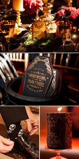 Halloween Wedding Photos by Inspirations Halloween Entertaining Tips Halloween Design
