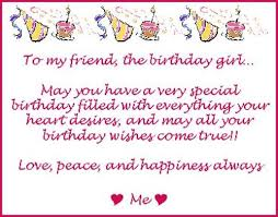 cute happy birthday wishes for best female pal wishesgreeting